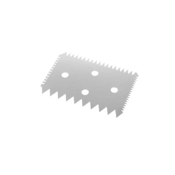 Cukrársko-pekárska škrabka - hrebeňová - 102 x 69 mm | 554234