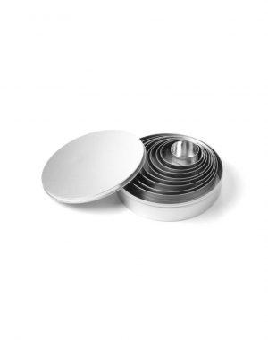 Cukrárska forma na vyrezávanie - okrúhla - sada 9 kusov | 673744