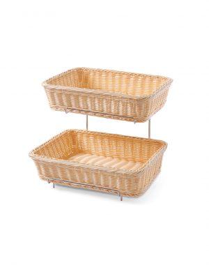 Košík na pečivo - 2 ks s rámom | Hendi 561201