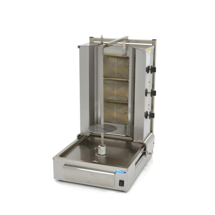 Gril na kebab - 3 horáky - plynový | Maxima 09370210