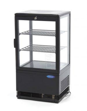 Maxima chladiaca vitrína s displejom - 58 l - čierna