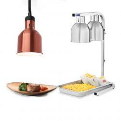 Ohrevné lampy na jedlo