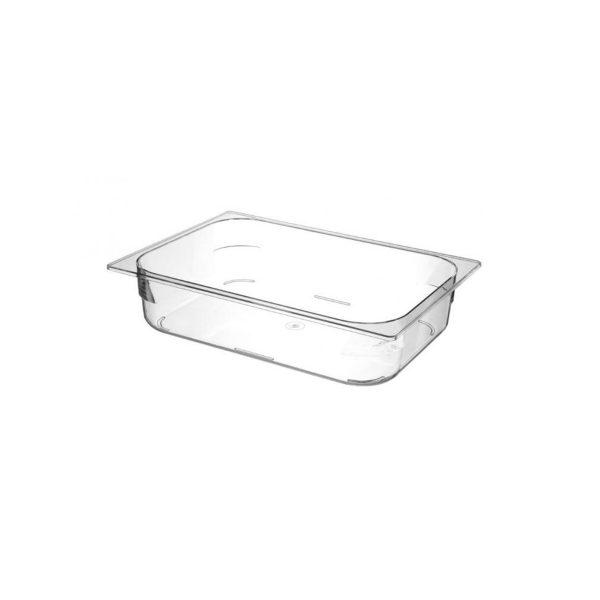 Polykarbonátová nádoba na zmrzlinu - priehľadná | 807057