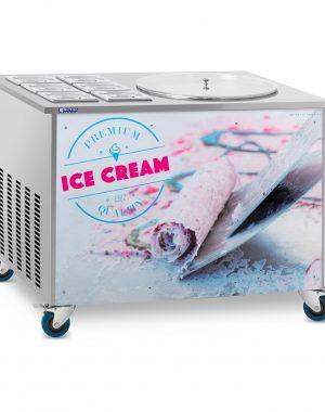 Stroj na thajskú zmrzlinu - rolovaná zmrzlina - 50 cm, 6x GN nádob RCFI-1O-6 - 1