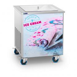 Stroj na thajskú zmrzlinu - rolovaná zmrzlina - 50 cm RCFI-1S - 1