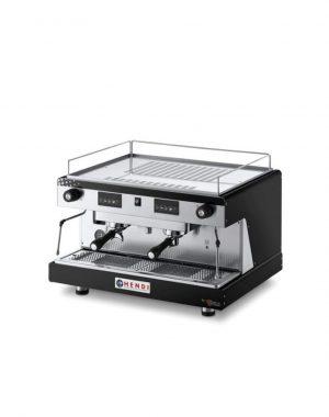 Dvojpákový kávovar - Top Line by Wega - čierny | Hendi 208946