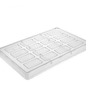 Forma na pralinky - mini tabličky čokolády | Hendi 677667