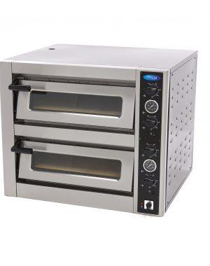 Maxima Deluxe Pizza pec - 4 + 4 x 30 cm - 400 V | 09370030