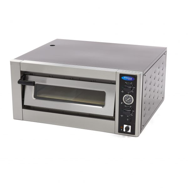 Maxima Deluxe Pizza pec - 4 x 30 cm - 400 V   09370020