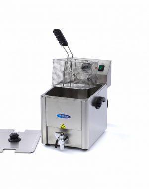 Maxima Elektrická fritéza s kohútikom - 1 x 8 l | 09300415