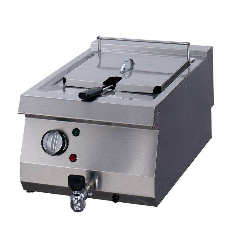 Maxima Elektrická profesionálna fritéza s kohútikom - 1 x 12 l | 09395000