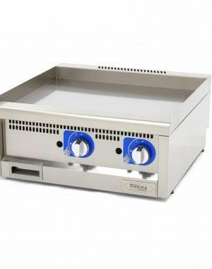 Maxima Komerčná plynová platňa - hladká - 60x60 cm | 09391600