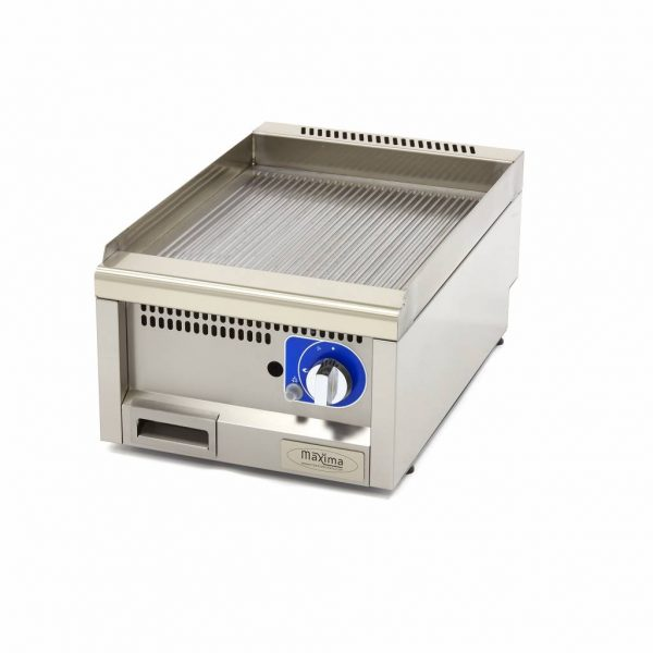 Maxima Komerčná plynová platňa - ryhovaná - 40x60 cm | 09391590