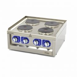 Elektrický varič - 4 horáky - 60x60 cm | Maxima 09391530
