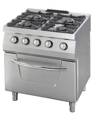 Maxima vysokovýkonný plynový varič + rúra - 4 horáky | 09396002