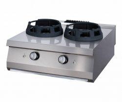Maxima vysokovýkonný plynový wok horák - dvojitý   09396006