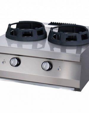 Maxima vysokovýkonný plynový wok horák - dvojitý | 09396006