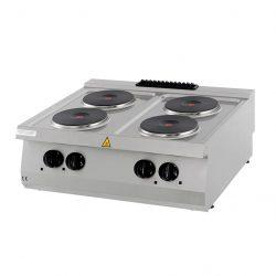 Maxima vysokovýkonný varič - elektrický - 4 horáky | 09394998