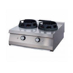 Maxima vysokovýkonný plynový wok horák – dvojitý | 09396006