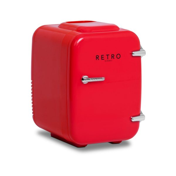Mini chladnička - 4 l - červená | BCMF-4L-S