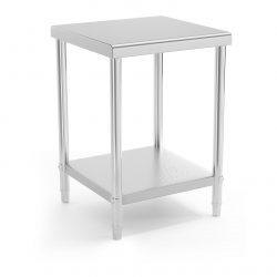 Pracovný stôl - 60 x 60 cm - 150 kg   RCAT-60/60-NW