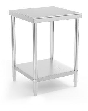 Pracovný stôl - 60 x 60 cm - 150 kg | RCAT-60/60-NW