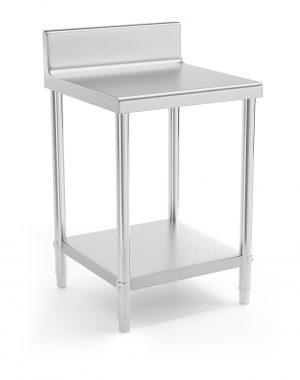 Pracovný stôl - 60 x 60 cm - so zadným lemom | RCAT-60/60-N