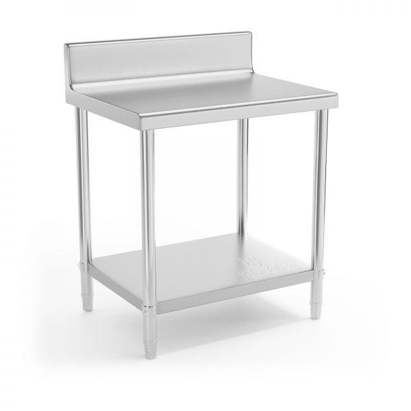 Pracovný stôl - 80 x 60 cm - so zadným lemom | RCAT-80/60-N
