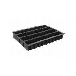 Silikónová forma na pečenie - CAKE 4 BARS - 600 x 400 | Hendi 676332