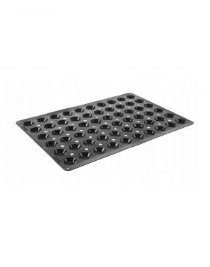 Silikónová forma na pečenie - MINI-TARTELETTE - 600x400 | Hendi 676240