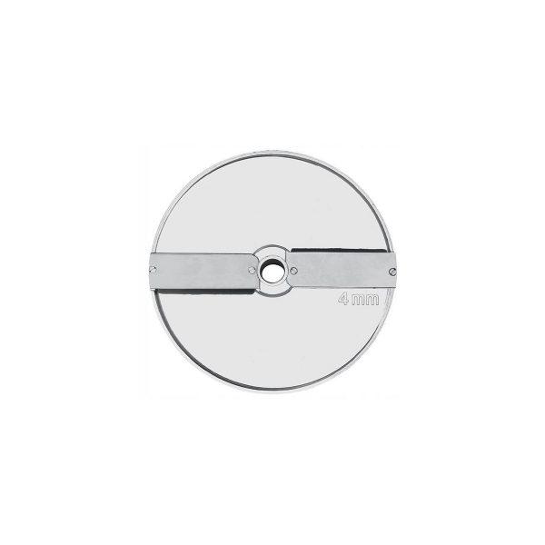 Disk - plátkovač 4 mm (2 nože na disku) | kód 280126, je vhodný pre krájače Hendi a Revolution 231807, 231852, 230275 a 230282.