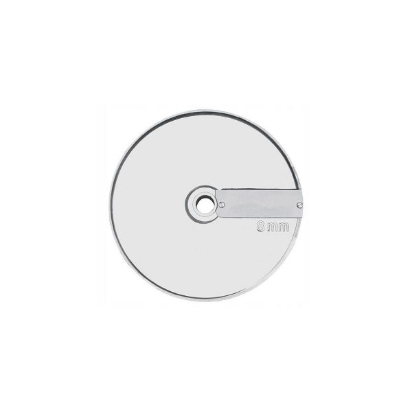 Disk - plátkovač 8 mm (1 nôž na disku)   kód 2802188, vhodný pre kájače zeleniny Hendi a Revolution 231807, 231852, 230275 a 230282.