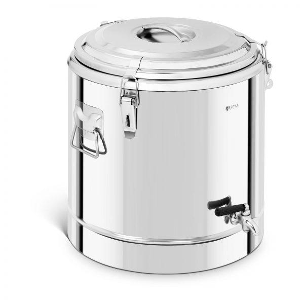 Gastronomický termos s kohútikom - 35 l | RCTP-35ET