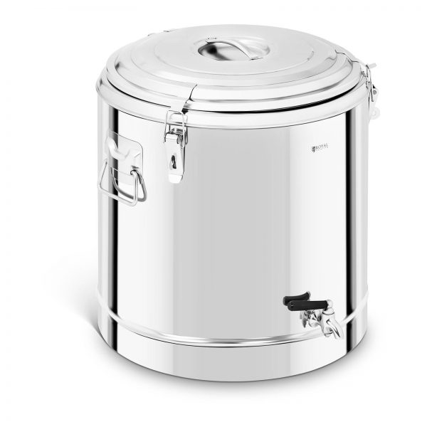 Gastronomický termos s kohútikom - 50 l | RCTP-50ET