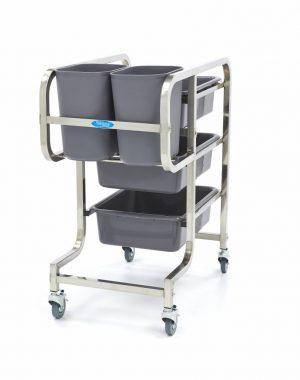 Maxima čistiaci vozík - 5 zásobníkov