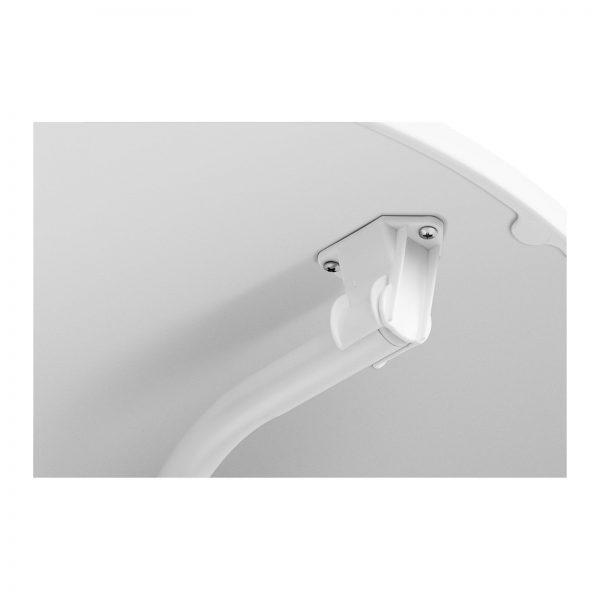 Barový stôl- bielý – skladací – Ø70 cm – 110 cm RC-BIS70FW-3