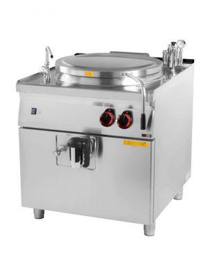 Elektrický varný kotol 150 L, 800/900 | BI-90/150E, nepriamy ohrev, nastavenie výkonu: 2 + 8 stupňovreguláciahlavná + energoregulátorom.