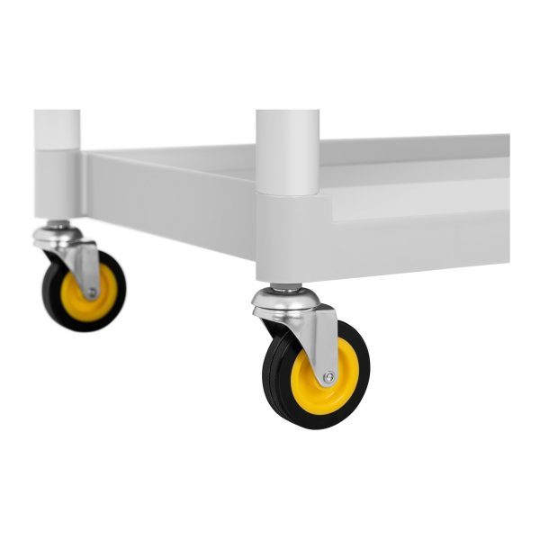 Hotelový servírovací vozík - 2 plastové nádoby - 150 kg UNICLEAN 150 -3