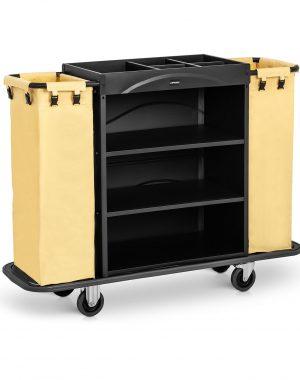Hotelový vozík - 2 nádoby na prádlo - 150 kg UNICLEAN 142B -1