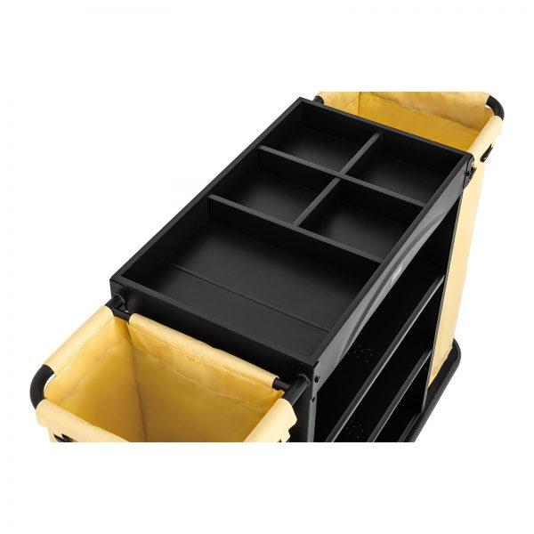 Hotelový vozík - 2 nádoby na prádlo - 150 kg UNICLEAN 142B -2