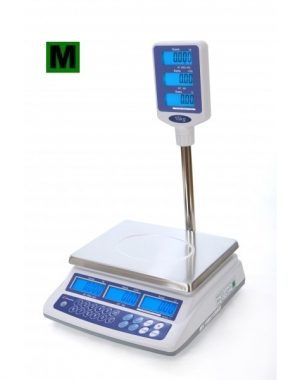 Obchodna váha s vypočtom ceny LRP do 15kg - 1