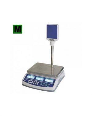 Obchodna váha s vypočtom ceny do 15kg so stĺpikom QSP-15 - 1