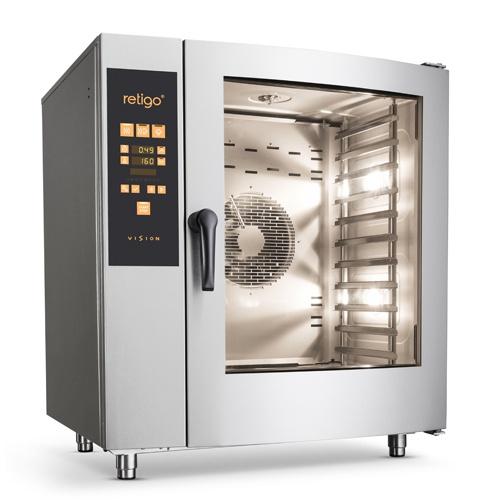 Elektrický konvektomat - 11xGN11 - nástrekový Orange Vision