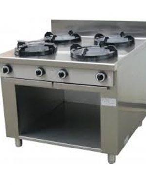Plynové varidlo - 4xhorák - 1000/1000 | CC-04
