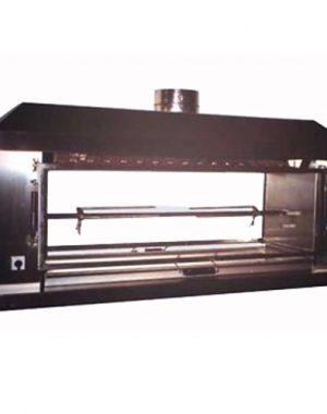 Plynový gril na prasa - 1xšpíz - ADA-2P1