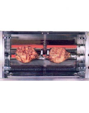 Plynový gril na prasa - 1xšpíz GPG-1