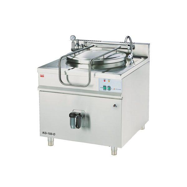 Plynový varný kotol - okrúhly duplikátor | KG-150-O