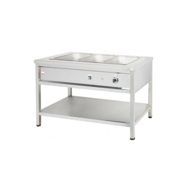 Výdajný ohrievací stôl - 3xGN1/1 | RVOSE12/4