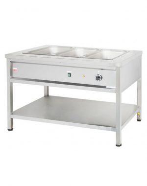 Výdajný ohrievací stôl - 1,4 kW | VOSE12