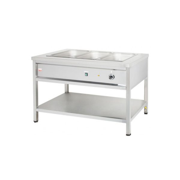 Výdajný ohrievací stôl - 3xGN1/1   VOSE12/ZD